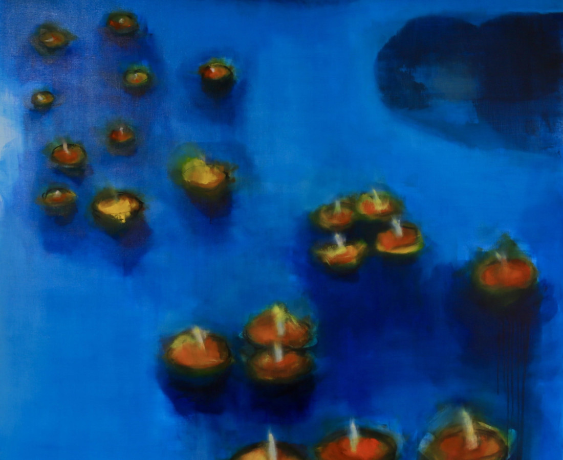 <span class=&#34;artist&#34;><strong>Cl&#233;a van der Grijn</strong></span>, <span class=&#34;title&#34;><em>Varanasi II</em></span>