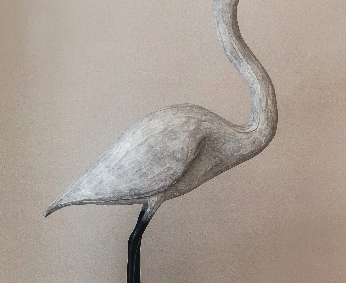 <span class=&#34;artist&#34;><strong>Fiona Smith</strong></span>, <span class=&#34;title&#34;><em>Heron</em></span>