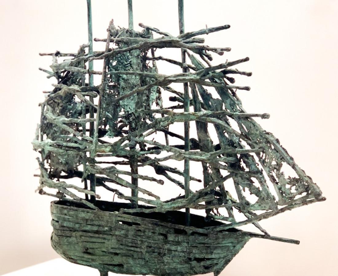 John Behan RHA, Famine Ship Mayo