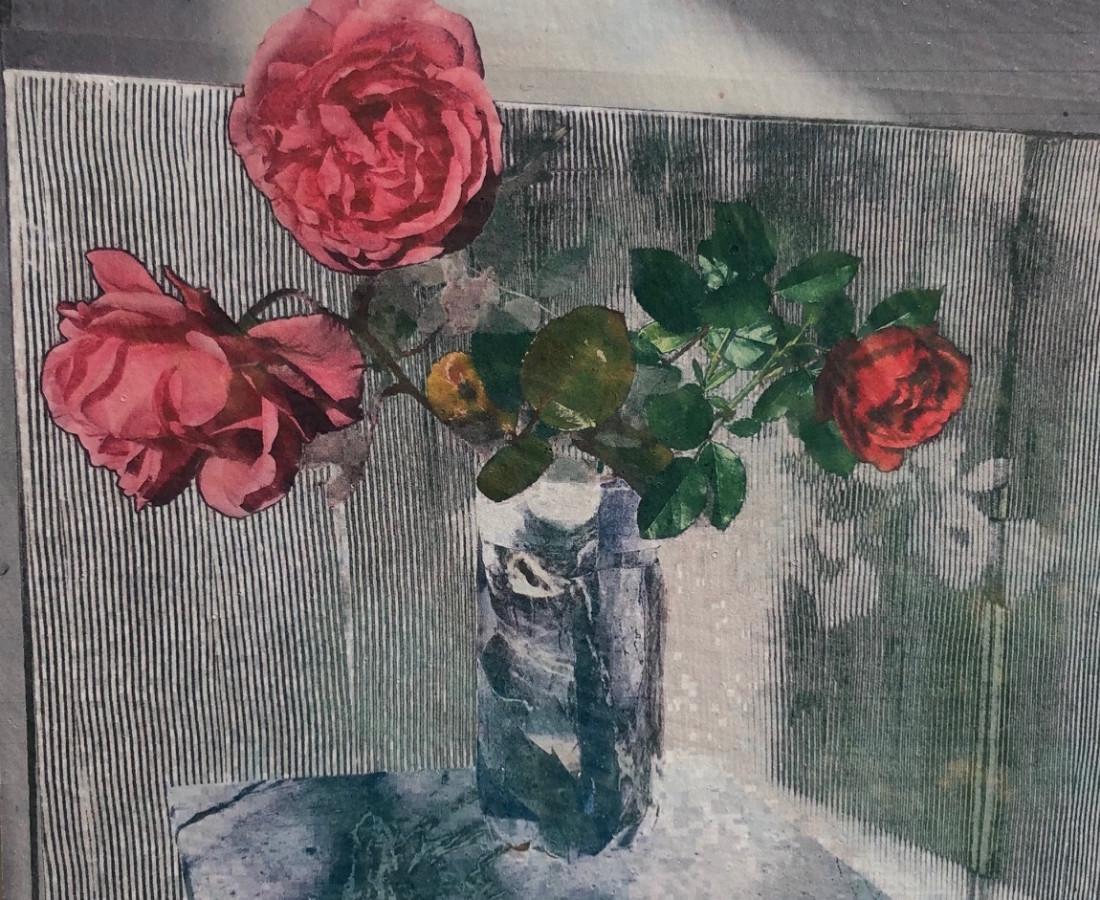 Austin Hearne, Paste Paper Rose