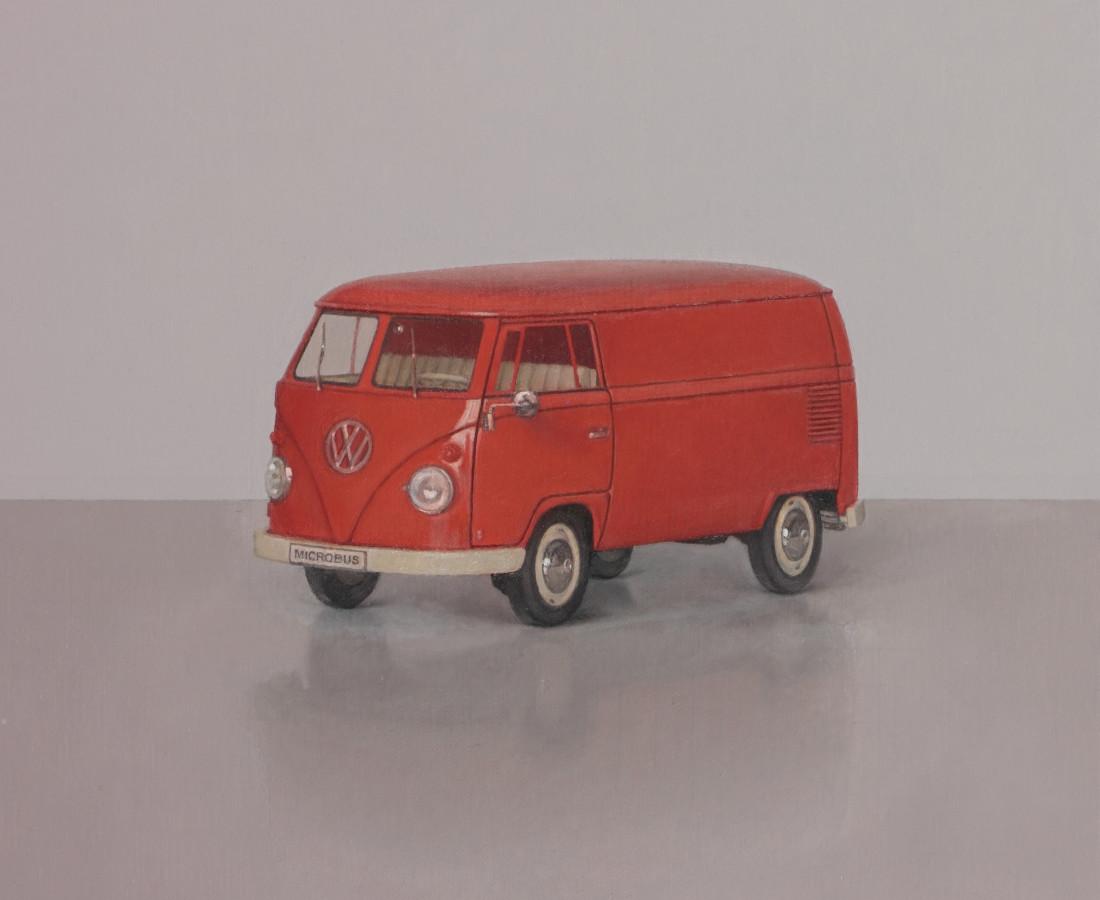 Comhghall Casey, Model Van (1963 Volkswagen T1 Bus, Welly 1;18)