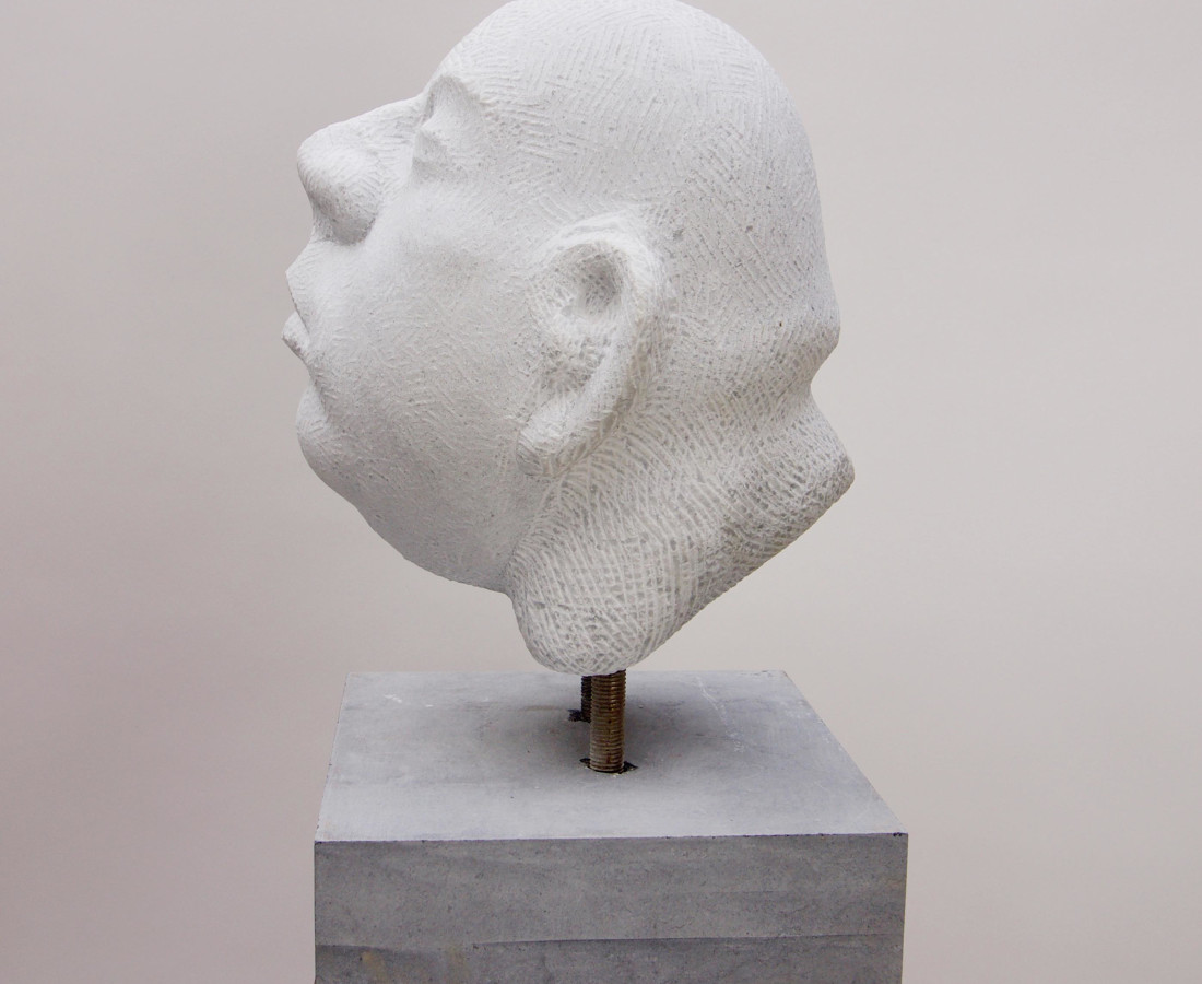 Michael Quane, Head Study (marble)