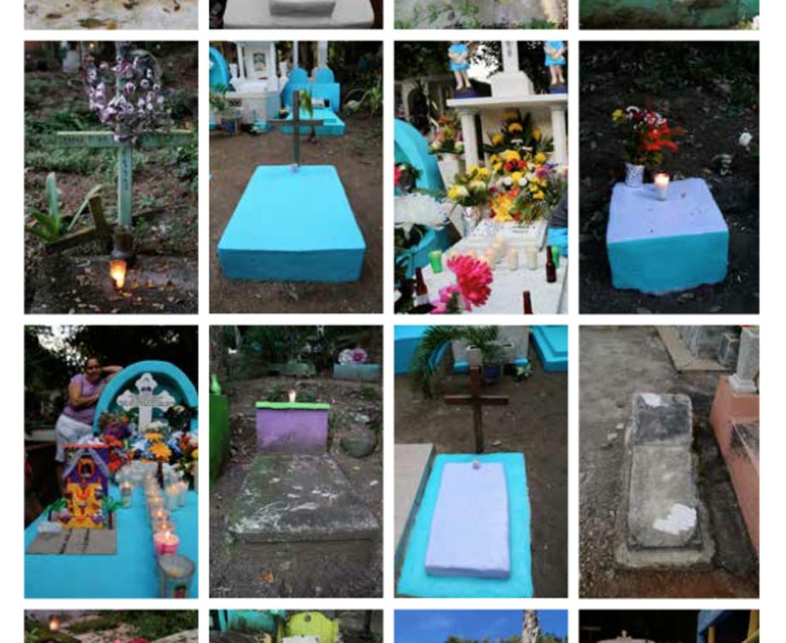 Cléa van der Grijn, Angel's Graves & Celebrations of El Dia de los Angelitos, Series I