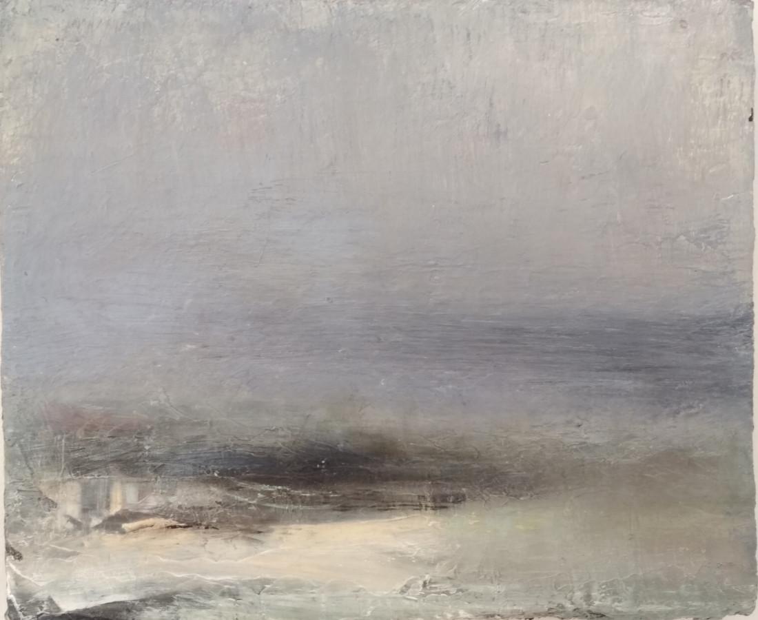 <span class=&#34;artist&#34;><strong>Carol Hodder</strong></span>, <span class=&#34;title&#34;><em>Meltwater II, (Iceland)</em></span>