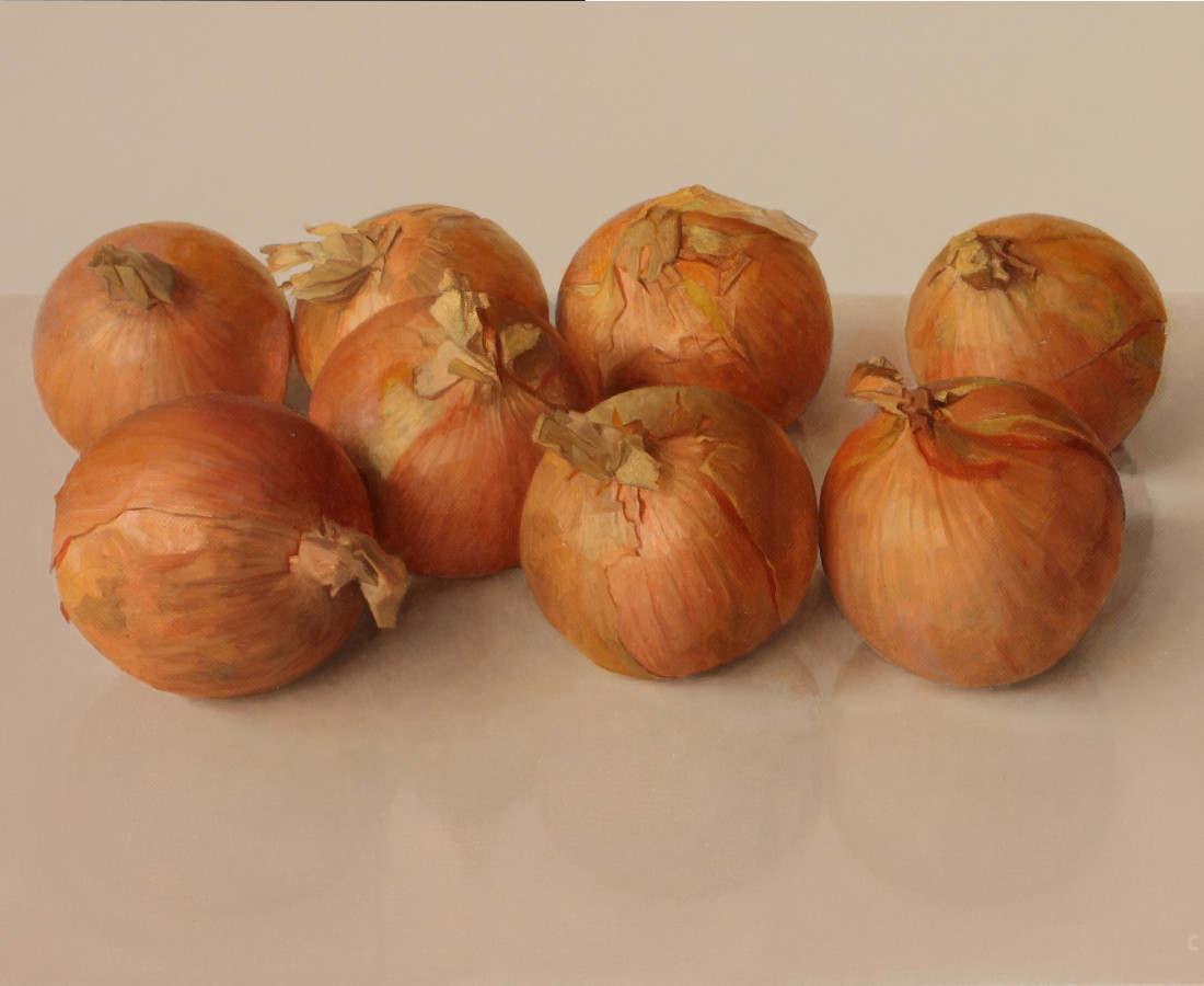 <span class=&#34;artist&#34;><strong>Comhghall Casey</strong></span>, <span class=&#34;title&#34;><em>Eight Onions</em>, 2017</span>