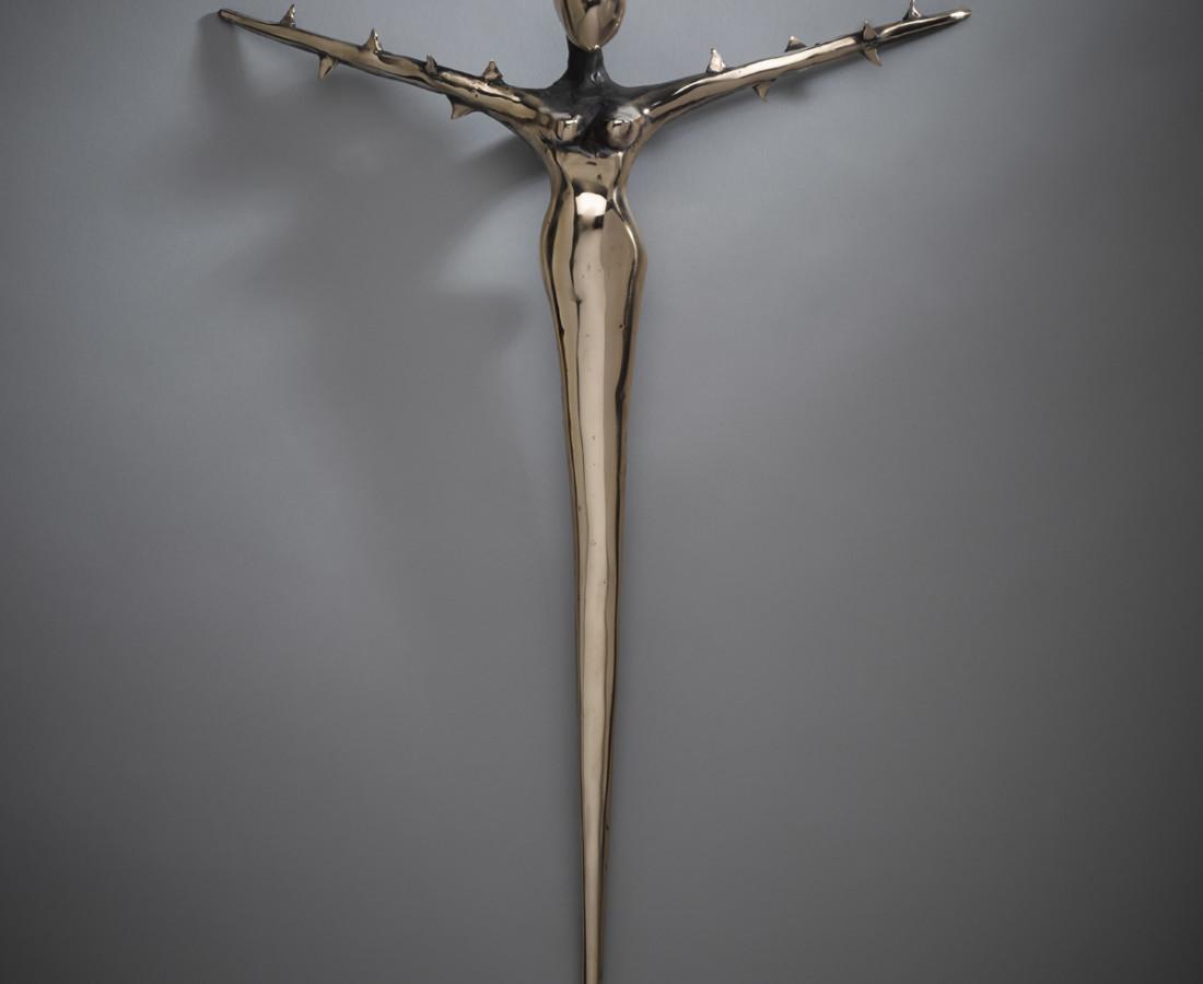 <span class=&#34;artist&#34;><strong>Orla de Br&#237;</strong></span>, <span class=&#34;title&#34;><em>Cross Bearer</em></span>
