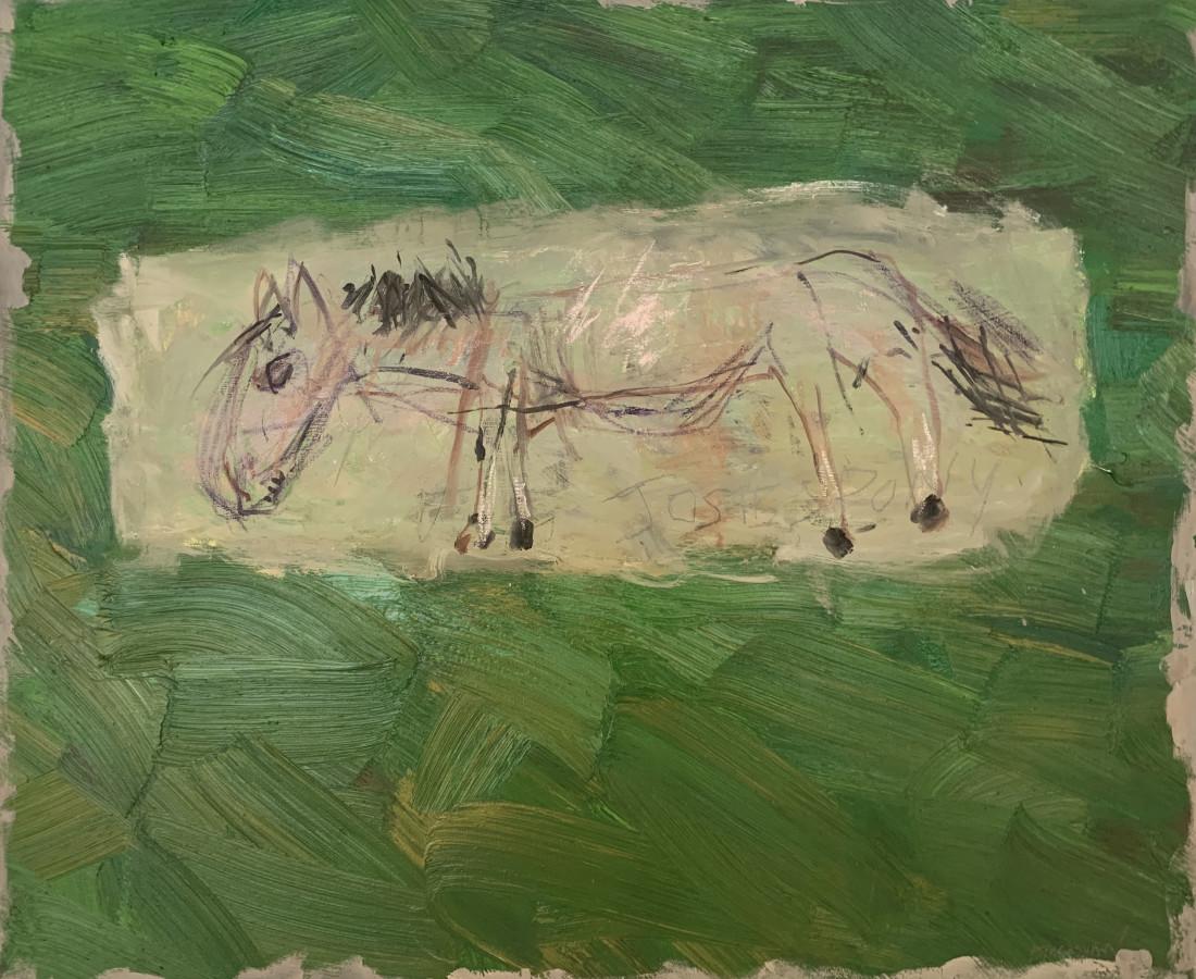 Basil Blackshaw HRHA, Josie's Pony