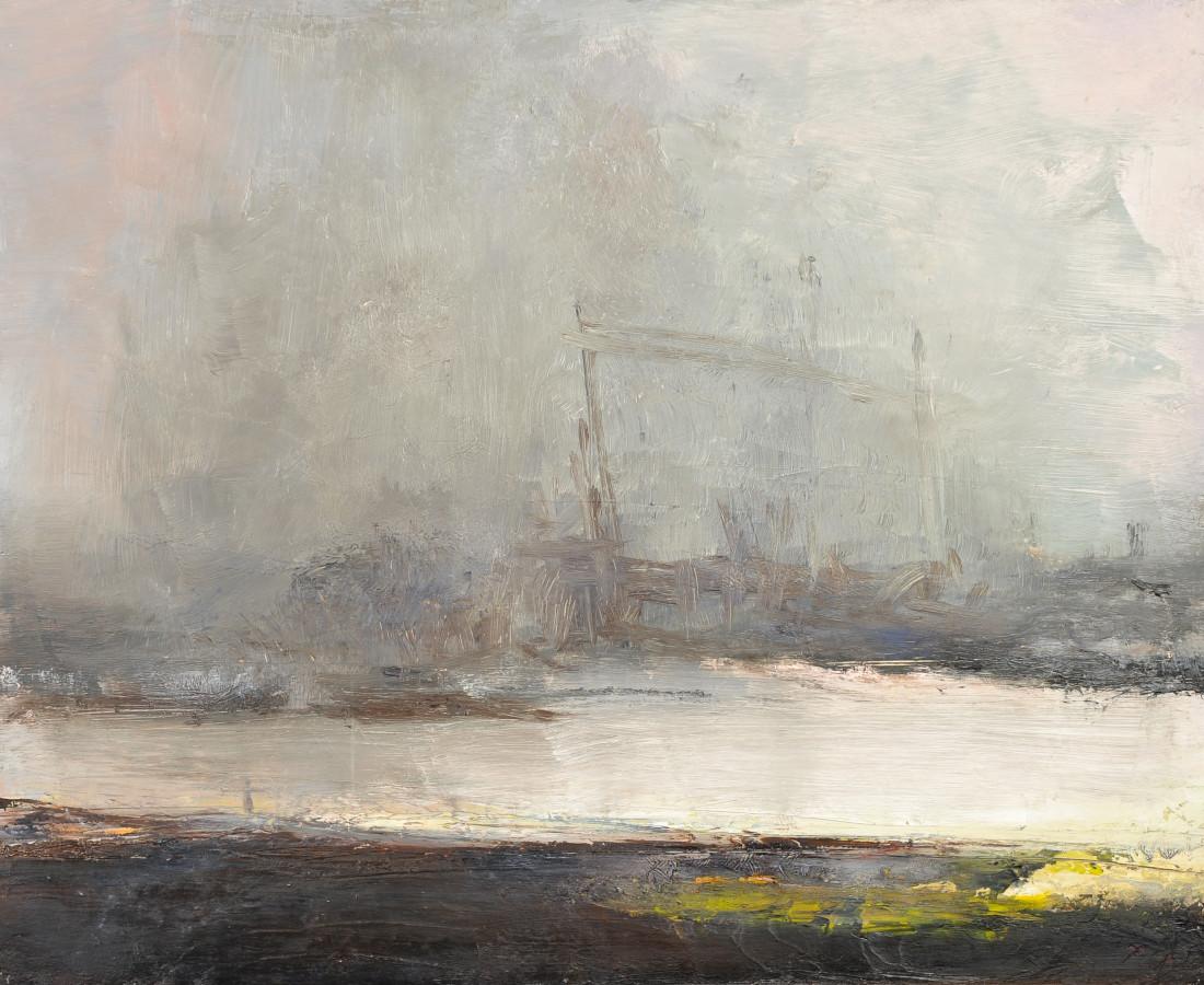<span class=&#34;artist&#34;><strong>Carol Hodder</strong></span>, <span class=&#34;title&#34;><em>Overcast VIII</em></span>