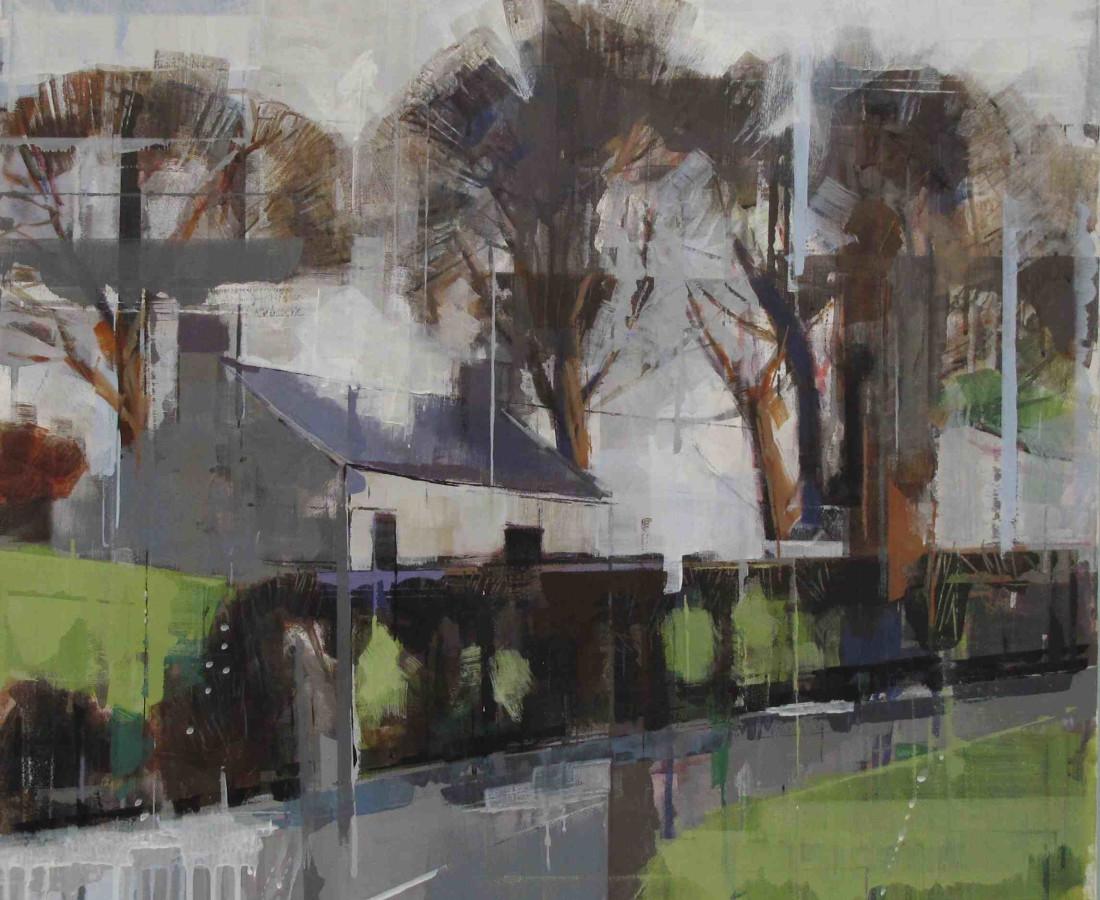 <span class=&#34;artist&#34;><strong>Bridget Flinn</strong></span>, <span class=&#34;title&#34;><em>Cottage after the Rain</em>, 2017</span>