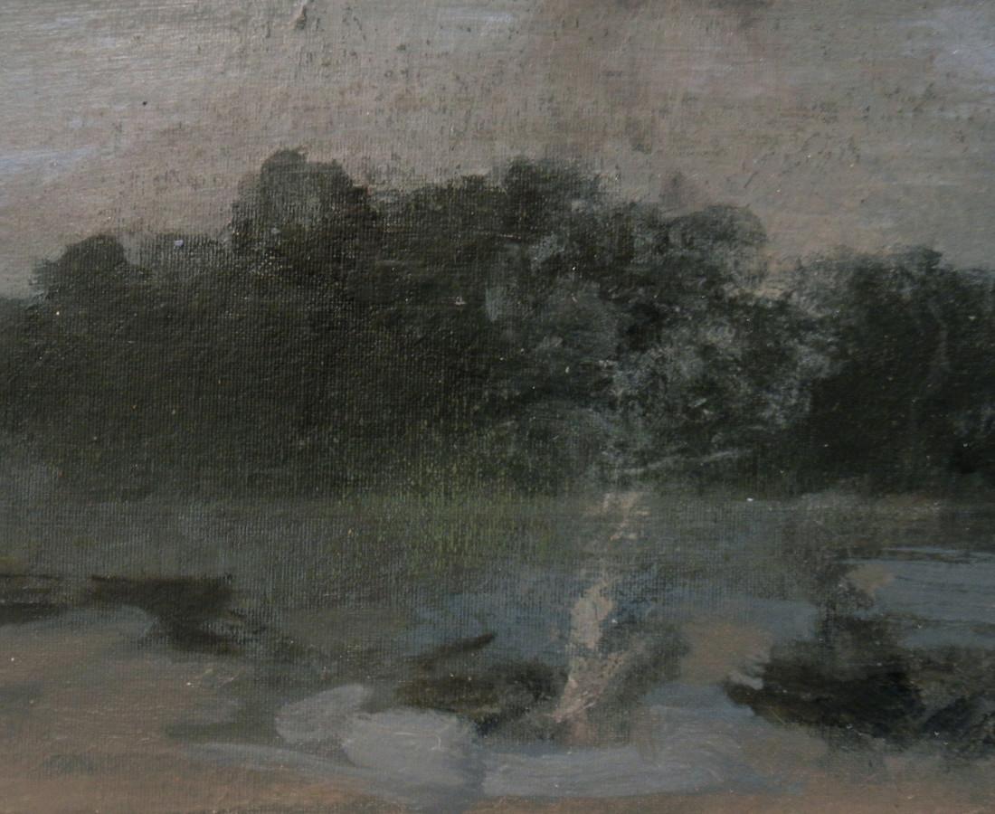 <span class=&#34;artist&#34;><strong>Clifford Collie</strong></span>, <span class=&#34;title&#34;><em>Campfire</em>, 2013</span>