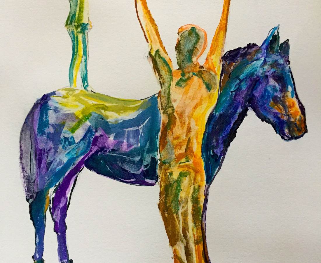 <span class=&#34;artist&#34;><strong>David KIng</strong></span>, <span class=&#34;title&#34;><em>Learnt Behaviour</em></span>