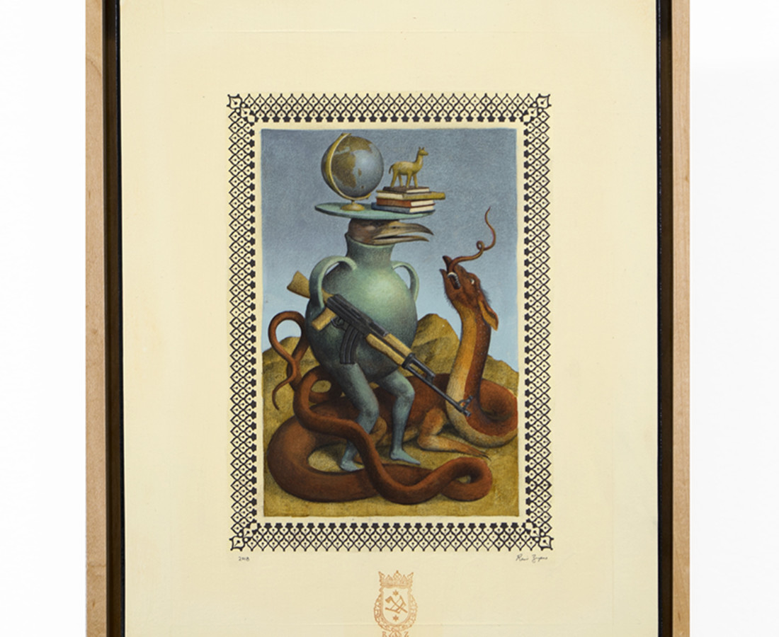 <span class=&#34;artist&#34;><strong>Ravi Zupa</strong></span>, <span class=&#34;title&#34;><em>Curiosity</em>, 2018</span>