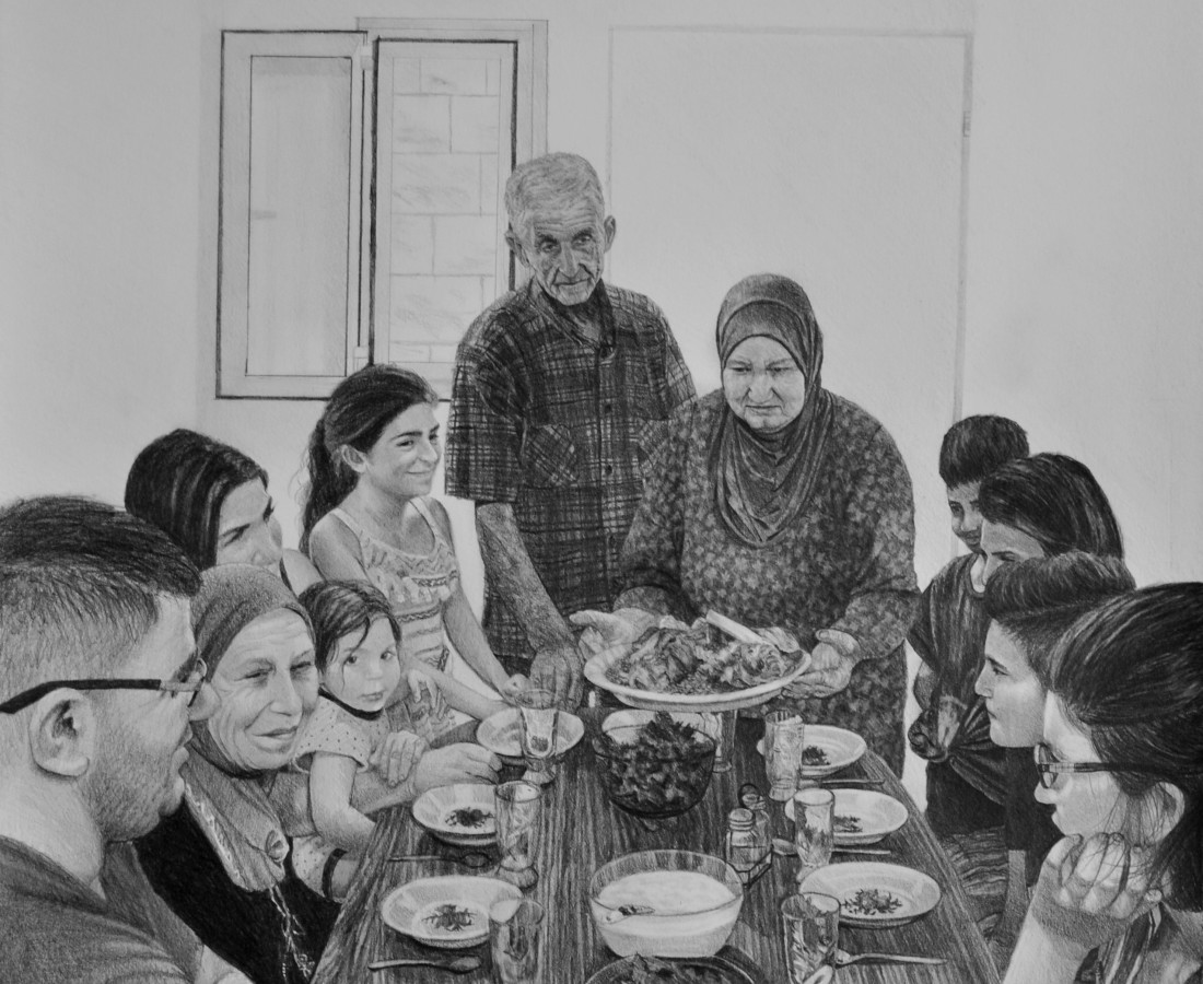<span class=&#34;artist&#34;><strong>Samah Shihadi</strong></span>, <span class=&#34;title&#34;><em>Mansaf</em>, 2018</span>