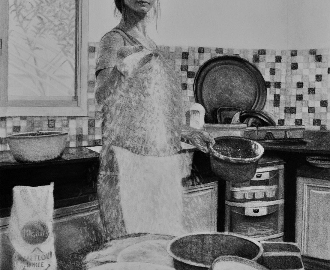 Samah Shihadi, Cooking Series , 2018