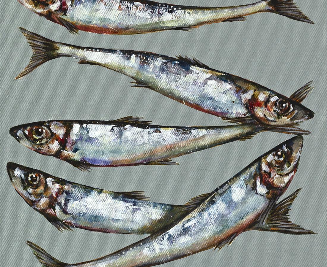 Caroline Cleave, Five Sardines