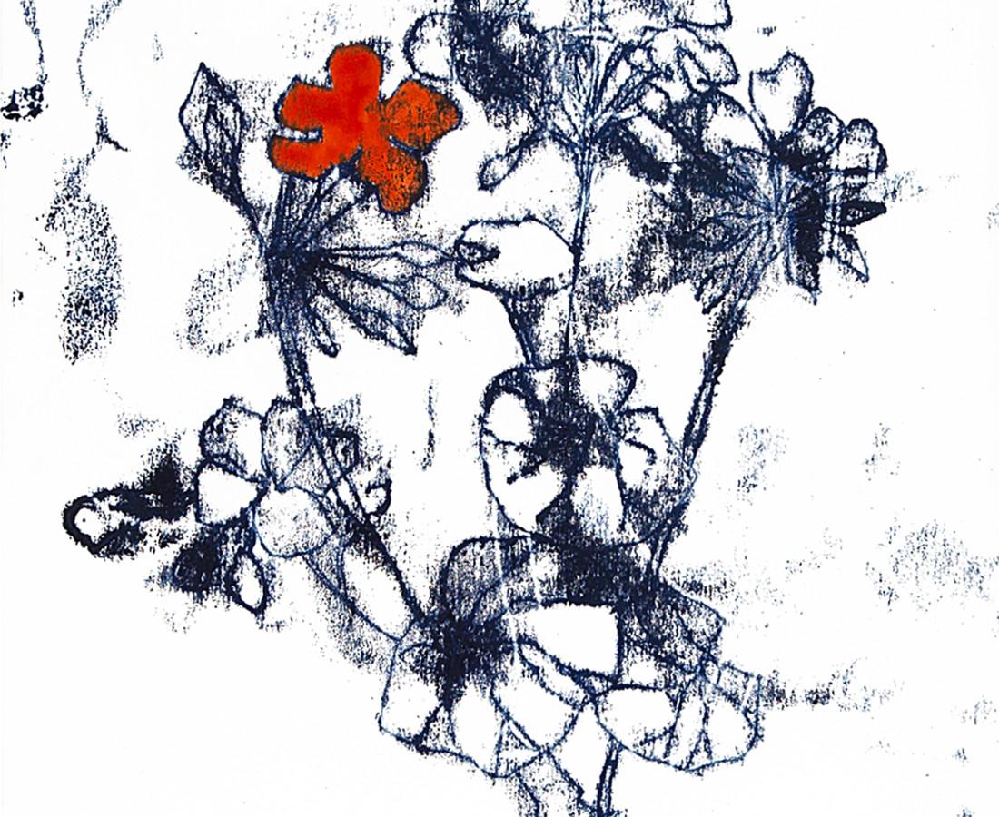 Caroline Cleave, Lockdown Flower