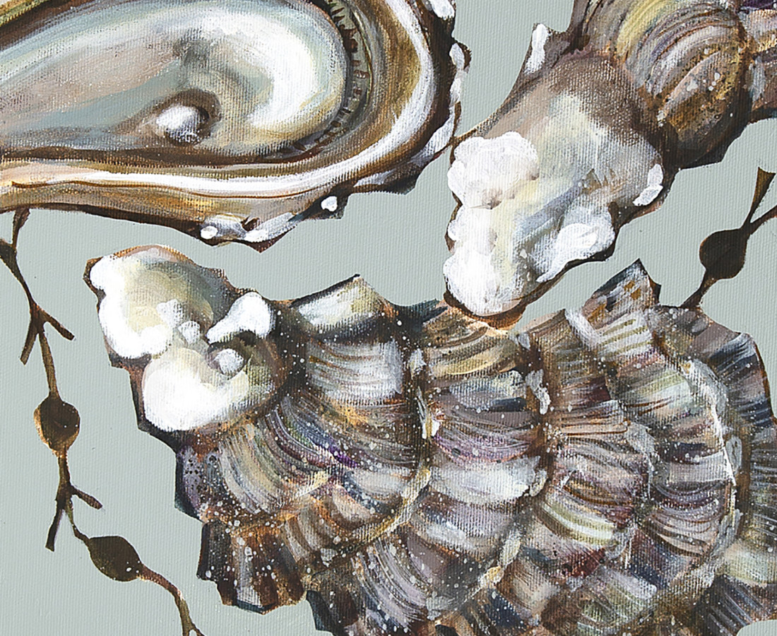 Caroline Cleave, Porthilly Oysters II