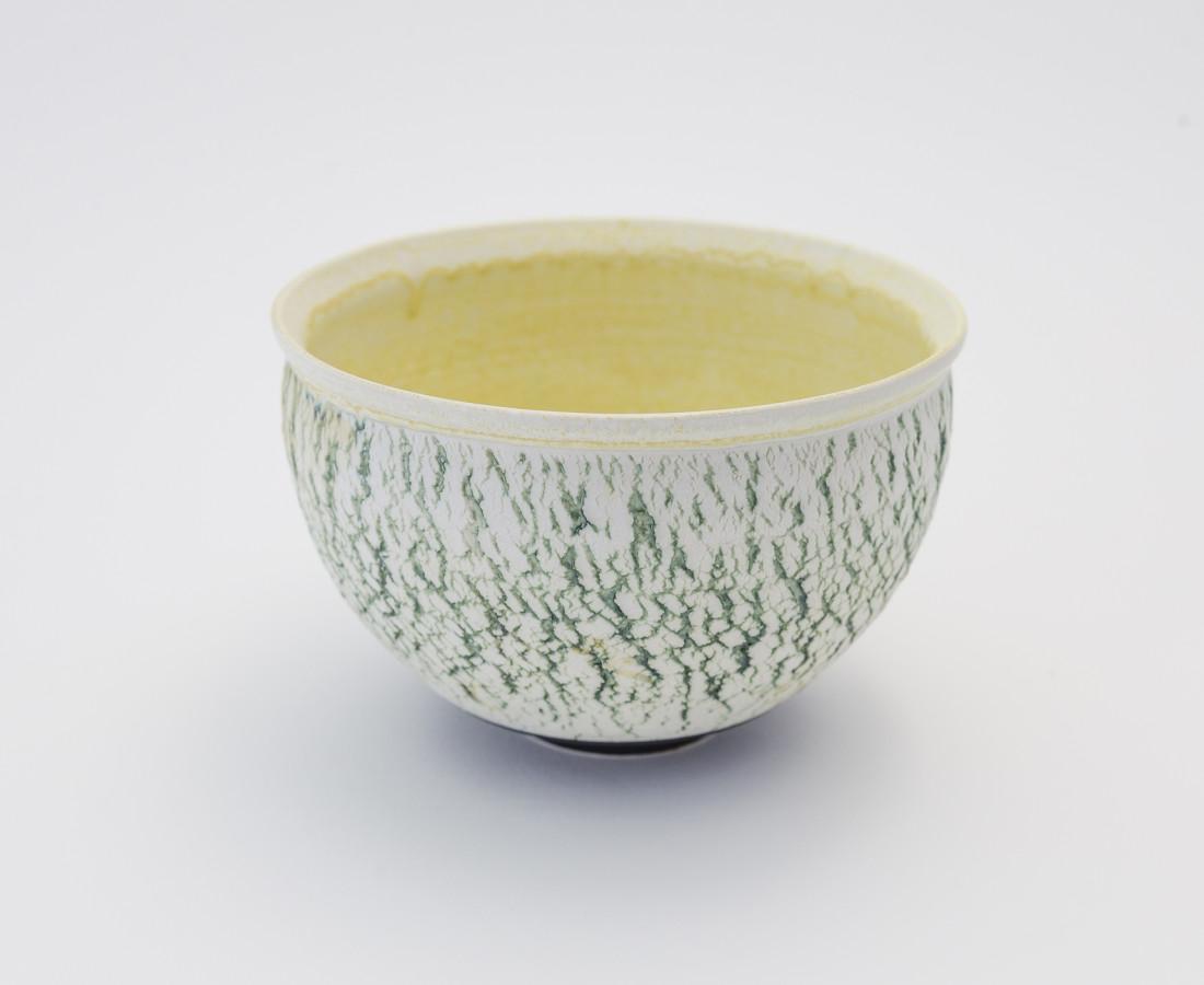 <span class=&#34;artist&#34;><strong>Hugh West</strong><span class=&#34;artist_comma&#34;>, </span></span><span class=&#34;title&#34;>Green Crackled Buttermilk Bowl</span>