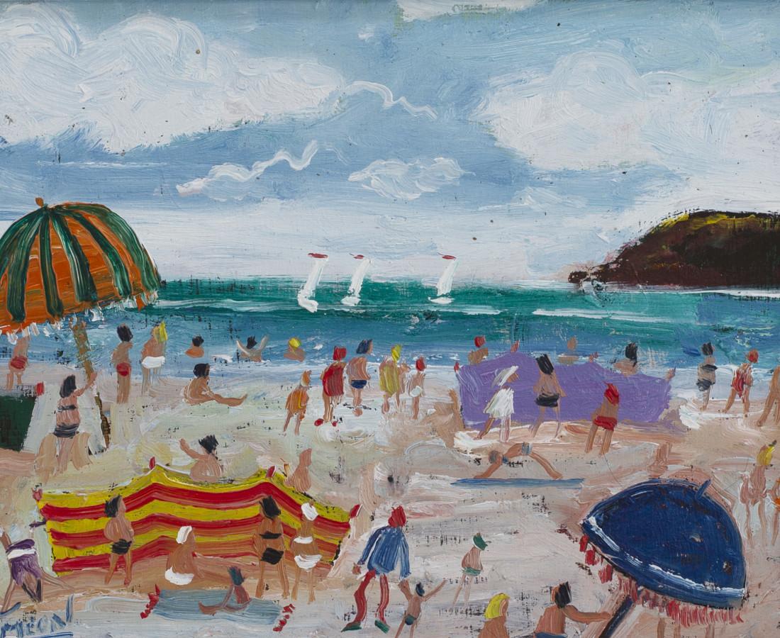 Simeon Stafford, Beach Scene