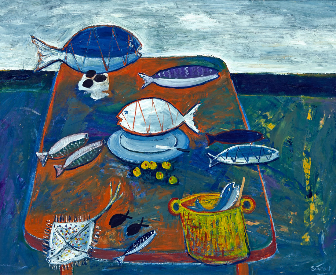 Simeon Stafford, Still Life, Polzeath