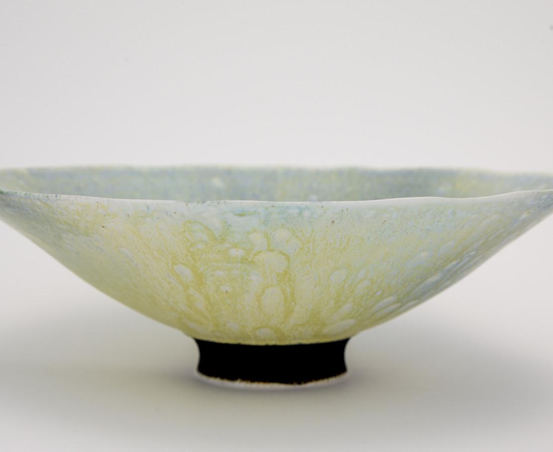 Hugh West, Open Yellow Glazed Bowl