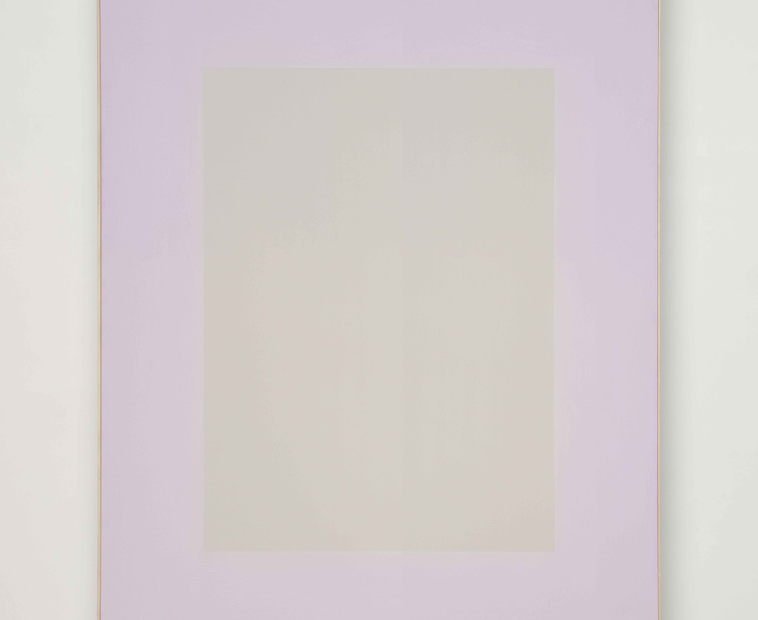 Erbern - Pinelli - Viallat: Ulrich Erbern, Luce nella luce, 2009, 185 x 150 cm - 72 7/8 x 59 1/8 in, acrilico su tela