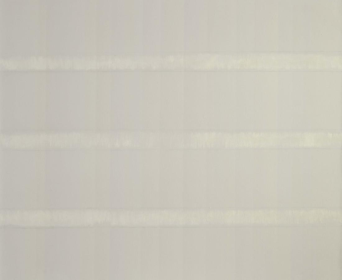 Erbern - Pinelli - Viallat: Ulrich Erbern, Senza titolo, 1973, 120 x 100 cm - 47 1/4 x 39 3/8 in, olio e grafite su tela