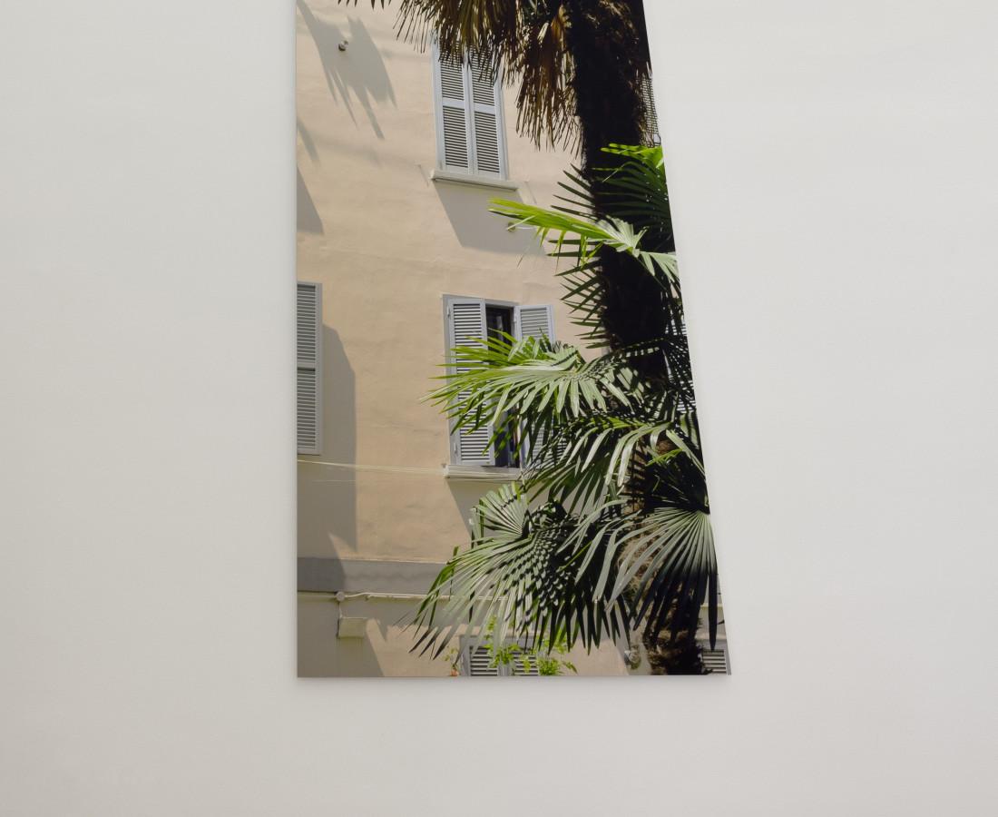 Mauro Vignando: foto print on aluminium sheet, 2015, 250 x 80 cm