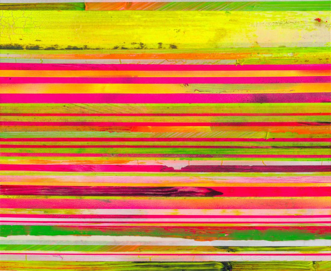 Paolo Bini: Untitled, 2015, 40 x 30 cm, acrilico su nastro carta su tela
