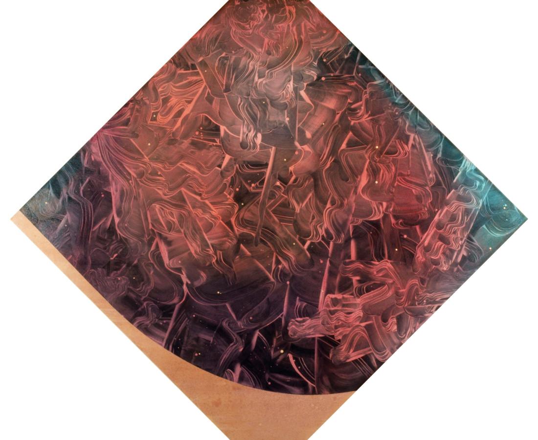Patrick Tabarelli: Dream Toolkit, 2012, 120 x 120 cm, olio e alchidico su tela
