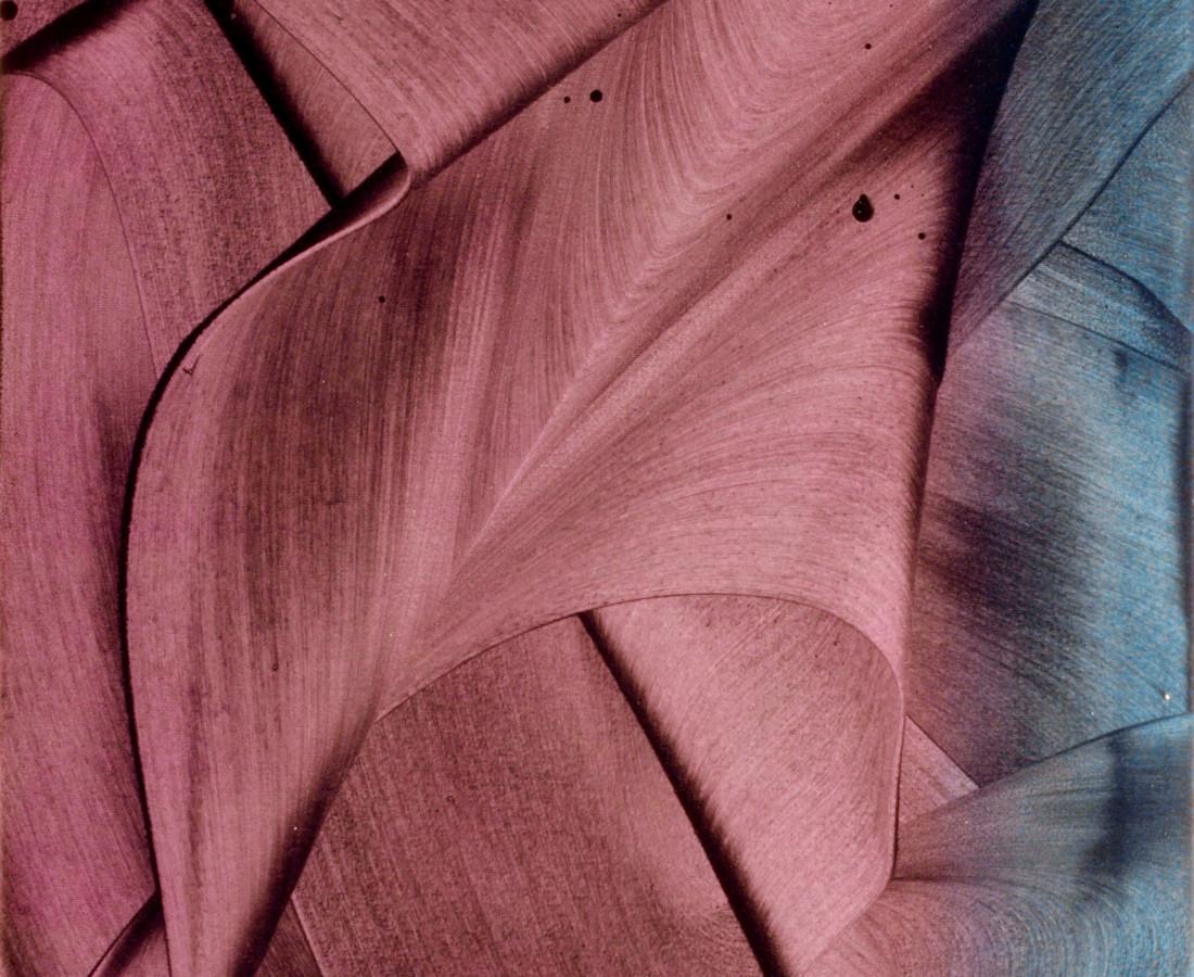 Patrick Tabarelli: Unconnected, 2012, 60 x 35 cm, olio e alchidico su tela