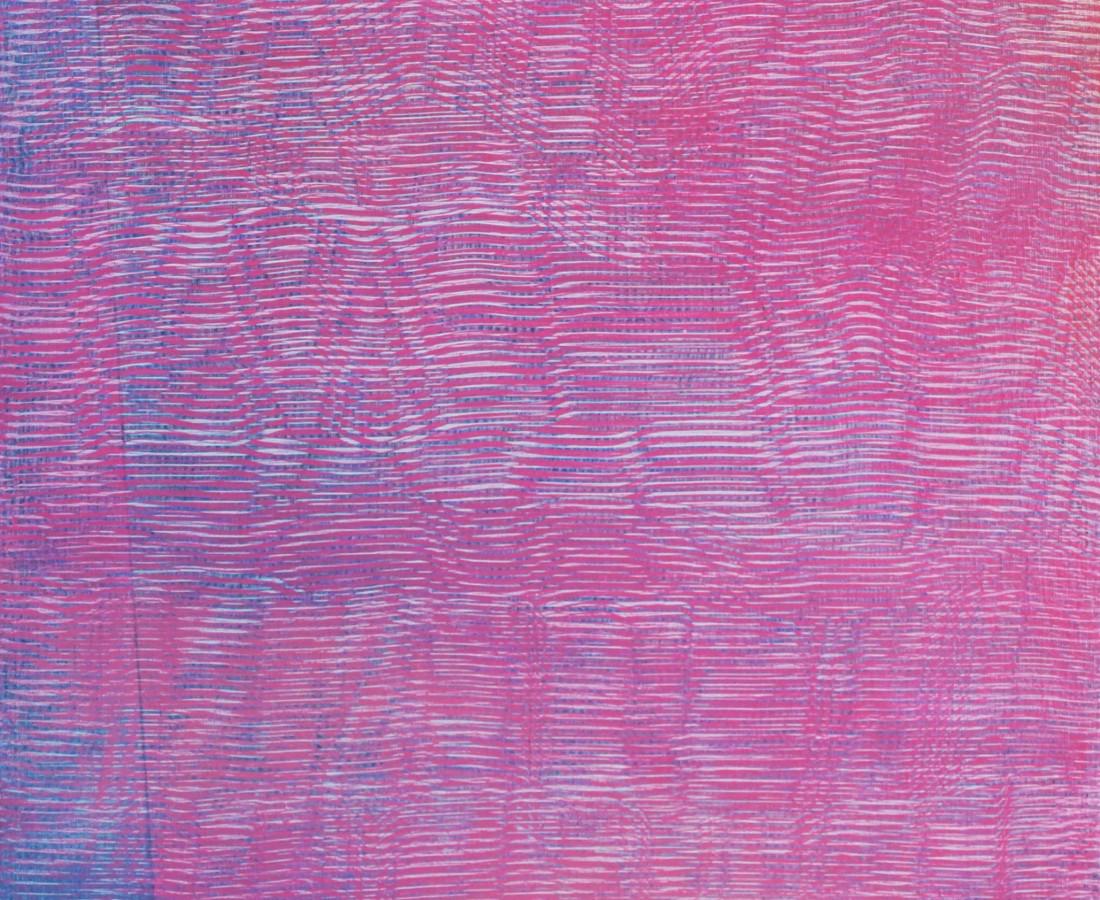 Patrick Tabarelli: Zero-Om, 60 x 35 cm , 2014, olio e alchidico su tela