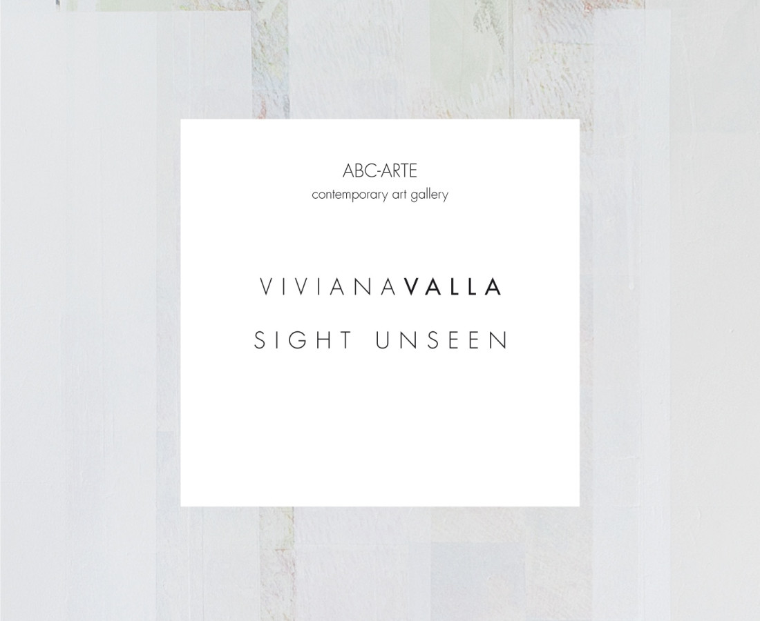 Viviana Valla : Sight Unsee , – ABC-ARTE Contemporary art Gallery – 2015 Copertina