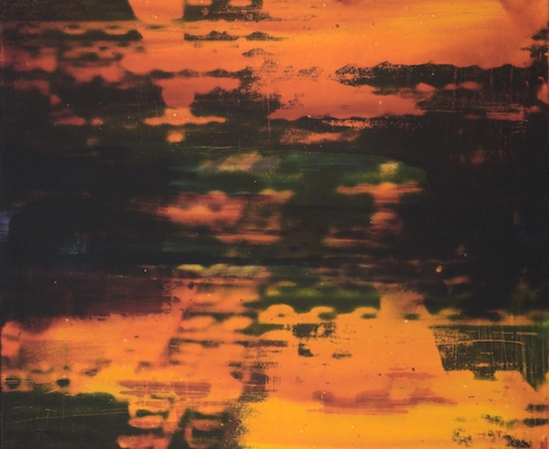 Matteo Negri: Isn't teally orange, 2015 stampa flatbed su alluminio e tecnica mista 100 x 80 x 6 cm