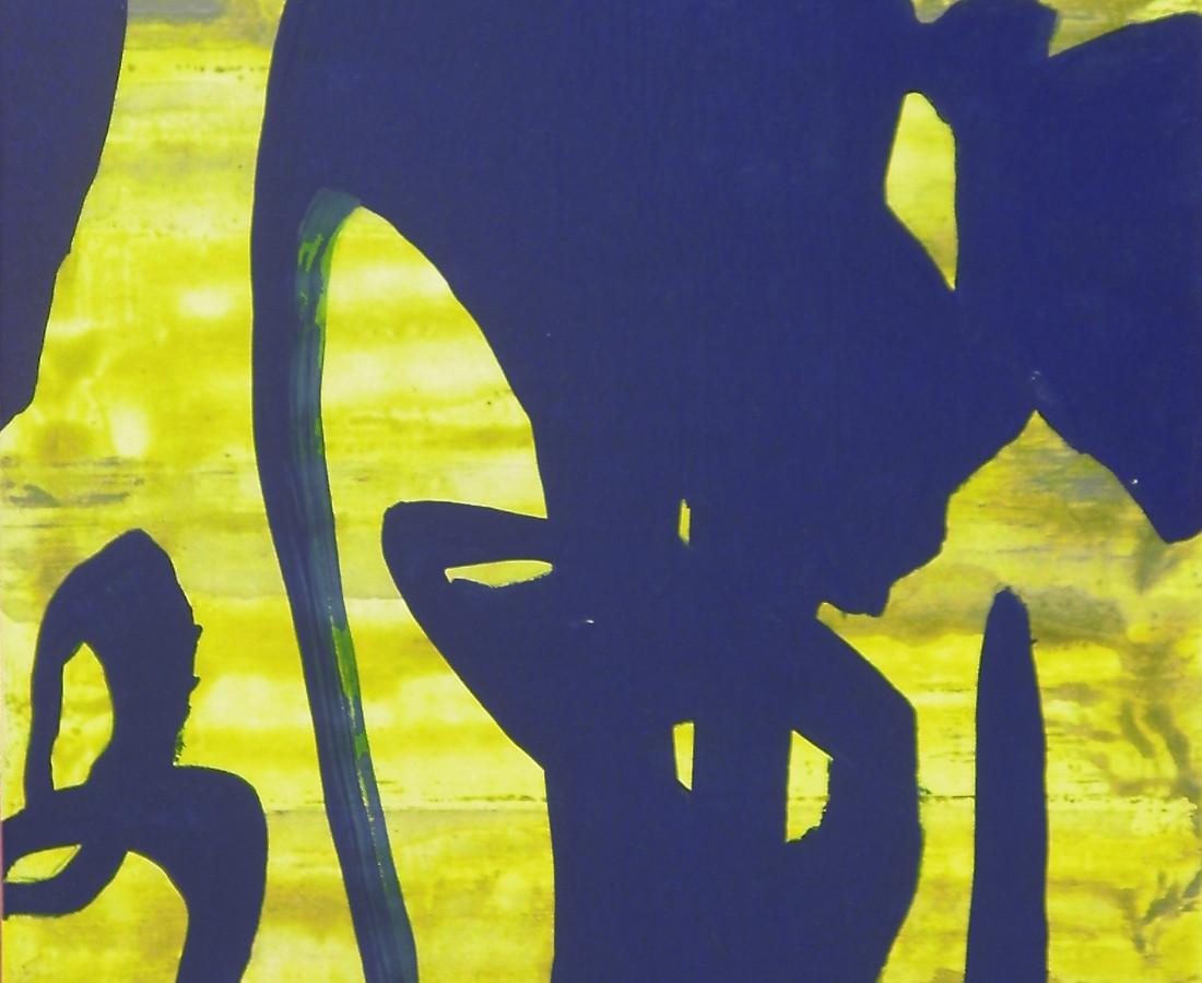 Giulio Zanet, 2015, Senza titolo, 49x29 cm, smalto e acrilico su tela