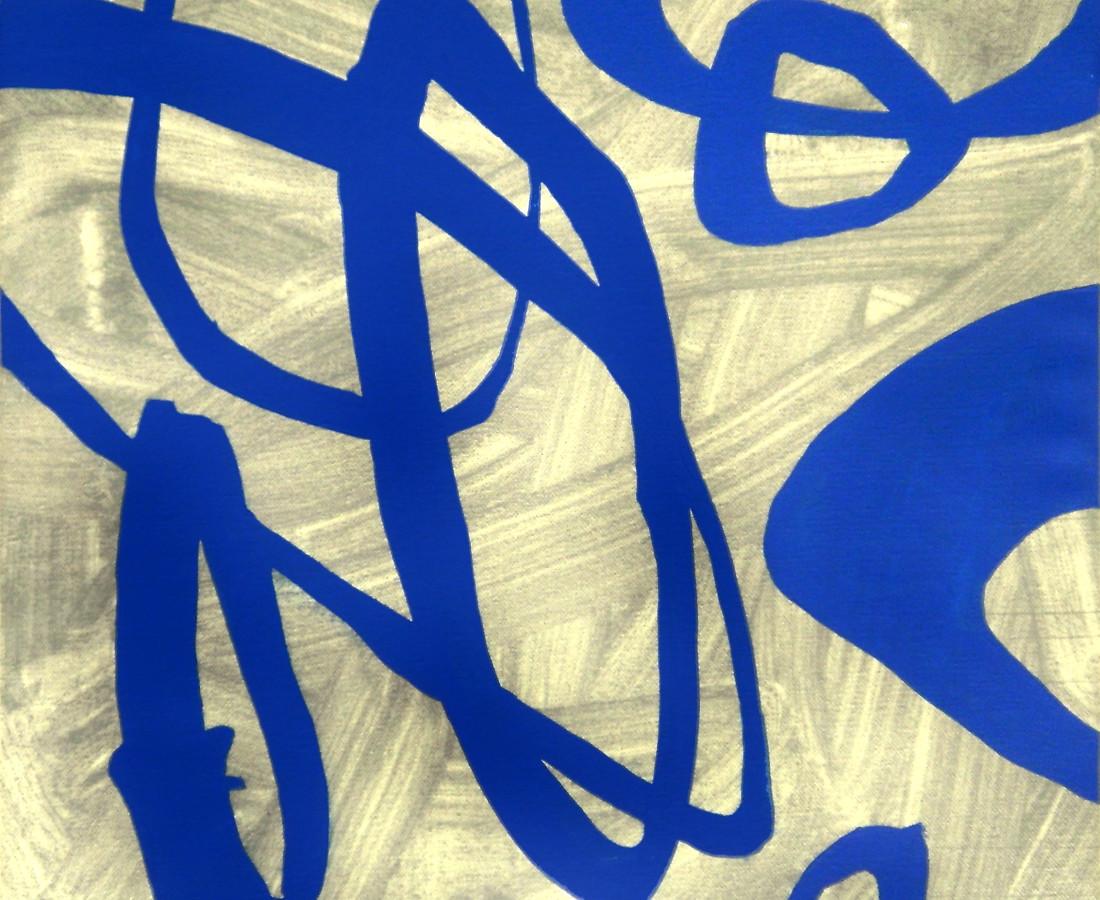 Giulio Zanet, 2015, Senza titolo, 50x46 cm, acrilico su tela