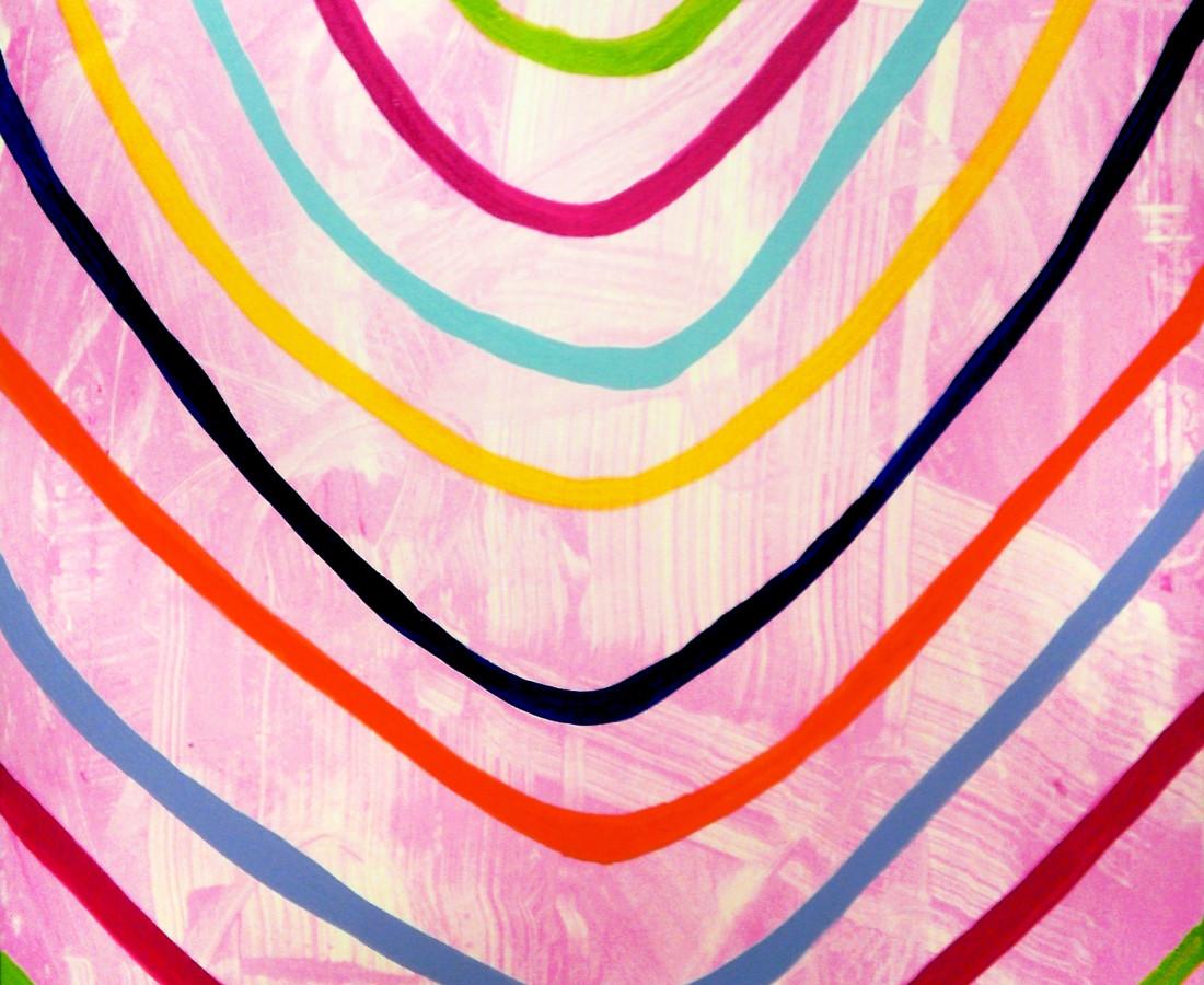 Giulio Zanet, 2015, Senza titolo, 90x60 cm, tecnica mista su tela