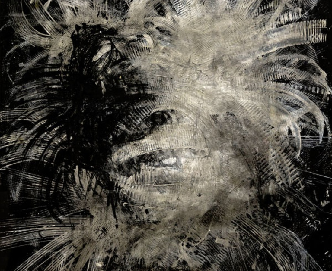 Yasuo Sumi, 2005, Black Work, 168x135 cm, work on paper