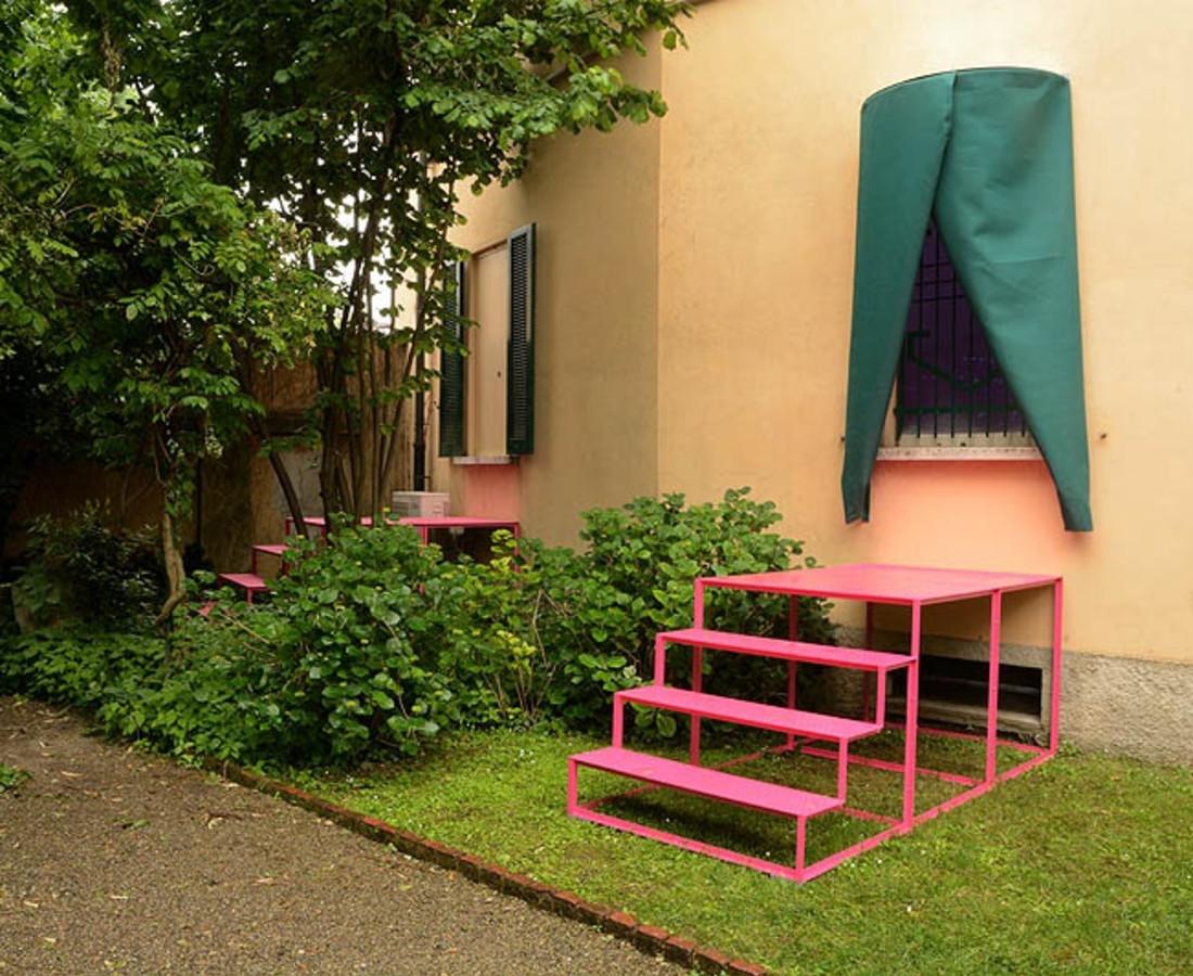 Matteo Negri, Splendida villa con giardino, viste incantevoli, solo exhibition at Casa Testori, Novate Milanese, 2016
