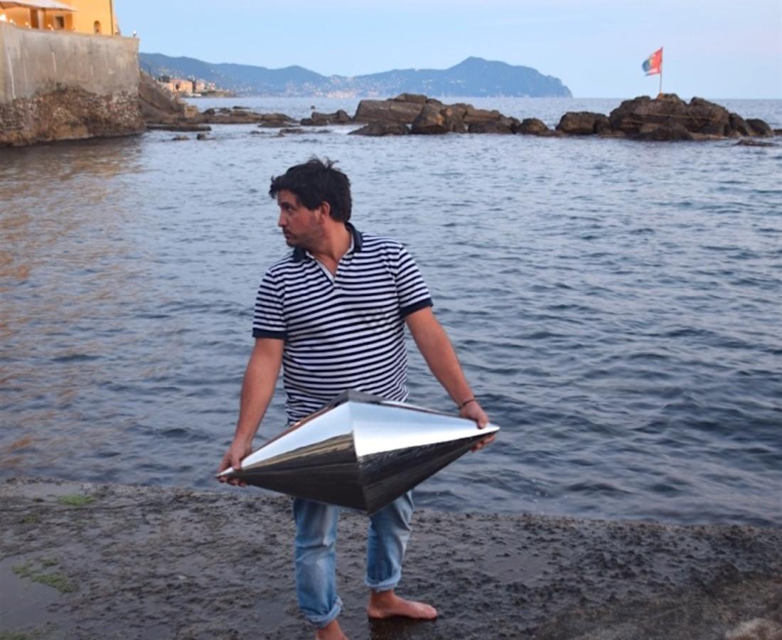 Matteo Negri, Navigator Genova, 2016, 110 x 110 cm, stampa digitale su carta Epson lucida, detail