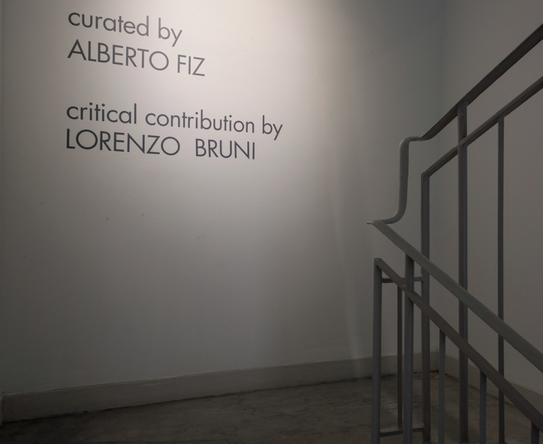 Matteo Negri | Piano Piano ABC-ARTE Genova, installation view, entrance