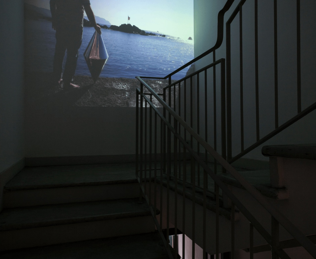 Matteo Negri | Piano Piano ABC-ARTE Genova, installation view, Navigator video