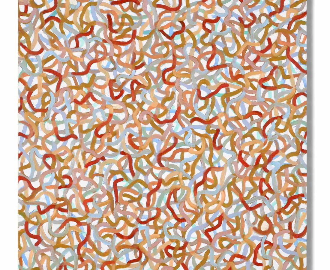 Paolo Iacchetti, Movimenti separati, 2017, 80x75cm, olio su tavola