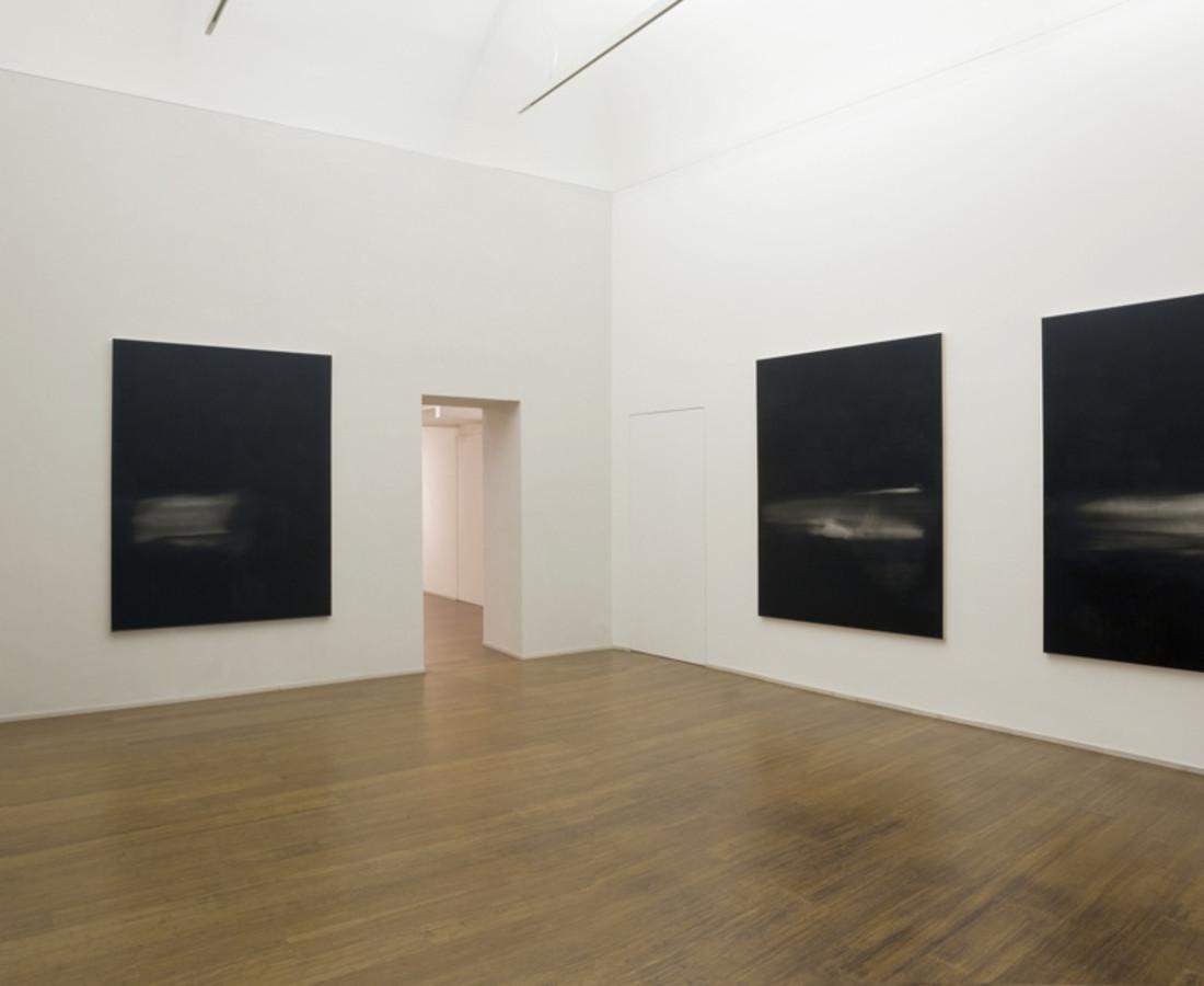 Mauro Vignando: All that's missing is you - ABC-ARTE Contemporary art Gallery - 2015 Black painting, n° VI, 2015. 190 x 150 cm - 74 3/4 x 59 1/8 in, acrilico su spporto in legno Black painting, n° IV, 2015, 190 x 150 cm - 74 3/4 x 59 1/8 in, acrilico su spporto in legno Black painting, n° V, 2015, 190 x 150 cm - 74 3/4 x 59 1/8 in, acrilico su spporto in legno