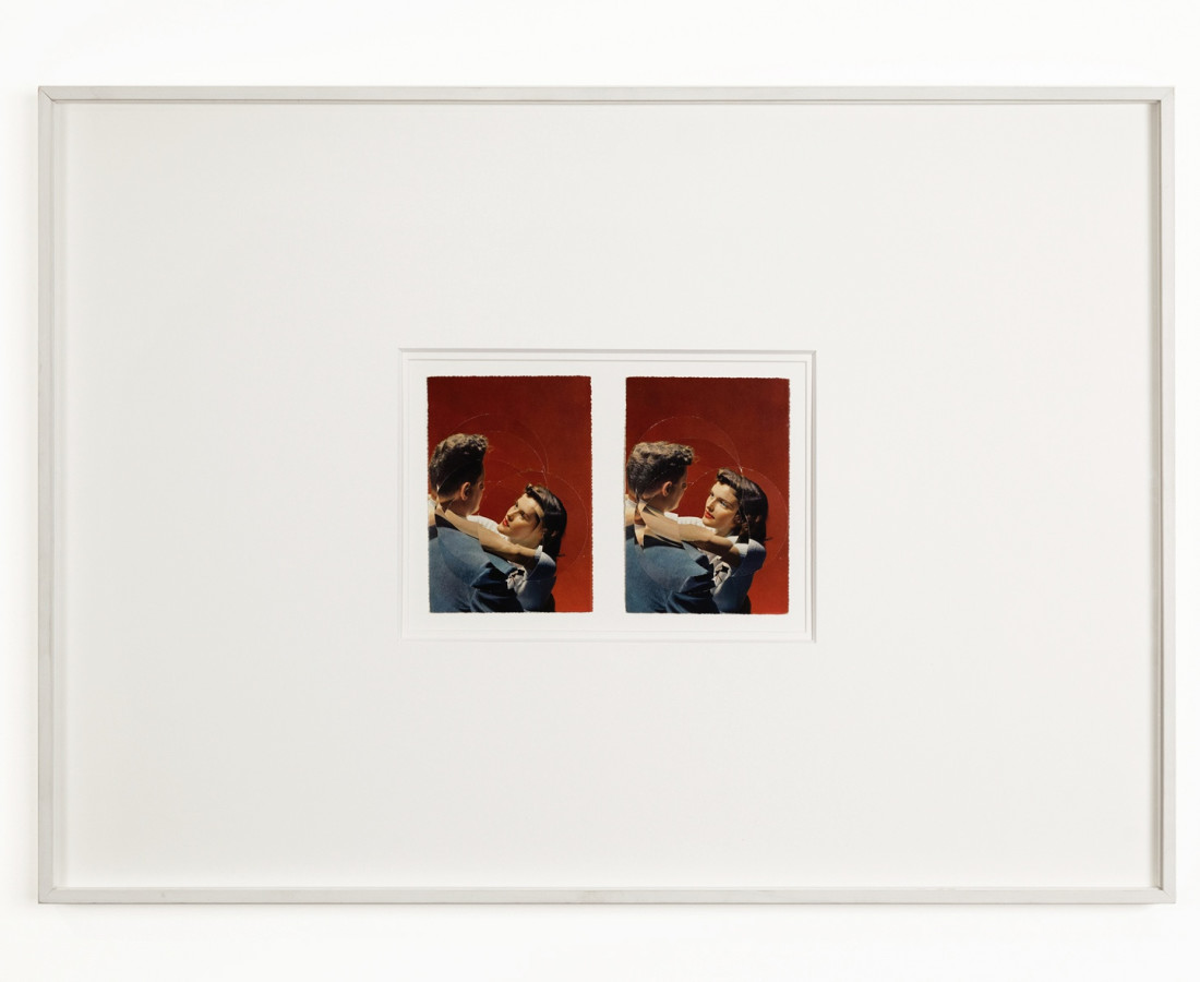 Mauro Vignando: Cartoline, 2015, 51 x 71 cm, tecnica mista