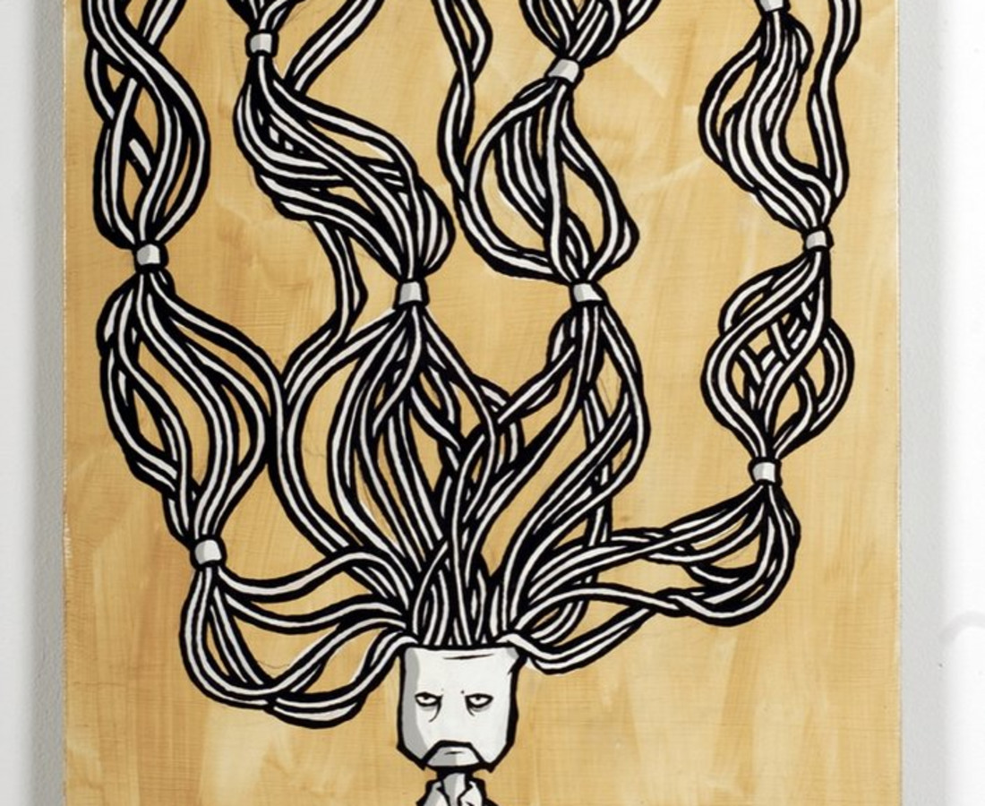 Patrick Smith, Mask Panel 1, 2007