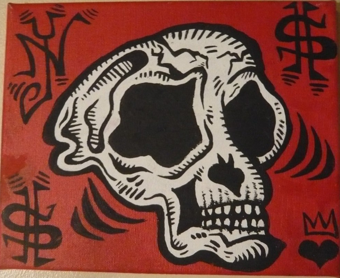 Damon Johnson, Monkey Skull, 2008
