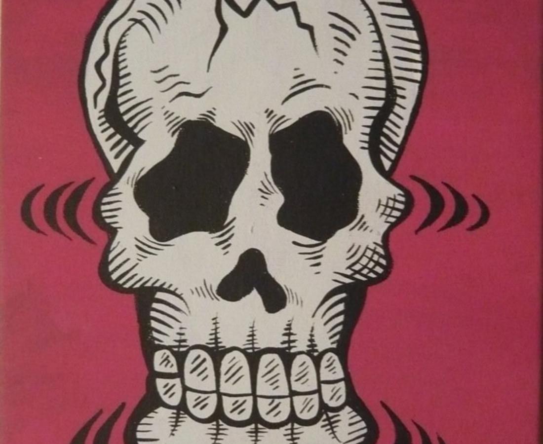 Damon Johnson, Human Skull, 2008