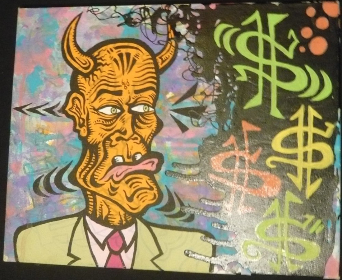 Damon Johnson, The devil wears a tie, 2008
