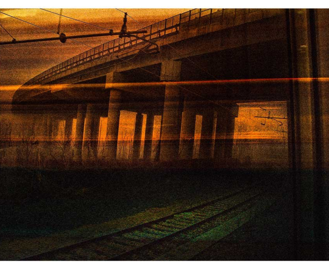 Andrea Garuti, Untitled (train), 2009